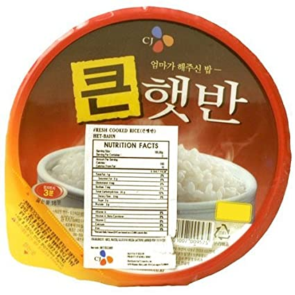 Instant Rice Korean Korean Instant White Rice
