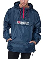 Geographical Norway Chaqueta Impermeable Boogee (Azul Marino)