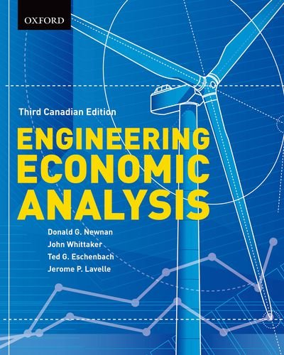 Engineering Economic Analysis: Third Canadian Edition