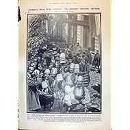 La Impresión Antigua de la Guerra 1908 de Turquía Austria Constantinopla Juan Quema a Presidente Government Board...