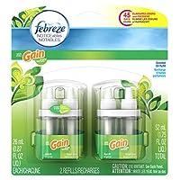 Febreze NOTICEables with Gain Original Dual Refill Air Freshener (2 Count, 1.75 Oz)