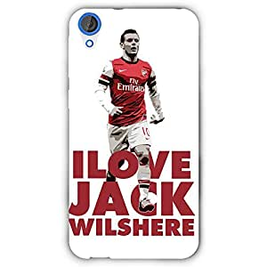 EYP Arsenal Jack Wilshere Back Cover Case for HTC Desire 820 Dual Sim