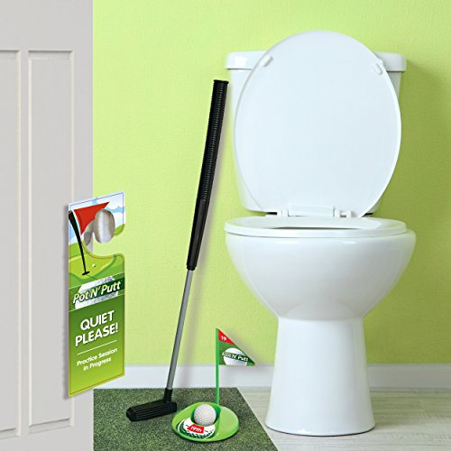 Golf Potty Putter Putting Game A Whimsical Golfing