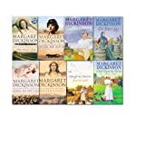 Margaret Dickinson Margaret Dickinson Collection 10 title in 8 Books Set,(The fisher lass, the Miller's Daughter, Chaff Upon the Wind, Pauper's Gold, Wish me Luck, Sing as We go, Sons and Daughters & the Tulip Gird and Plough the furrow & sow the seed