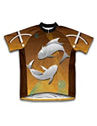 Pisces Short Sleeve Cycling Jersey for Women