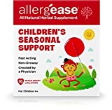 ALLERGEASE SPO Lollipop Children Seasonal Support Berry, 16 Count
