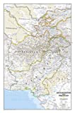 Afghanistan Pakistan Wall Map - Laminated (National Geographic)