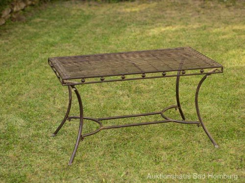 Garnitur Gartentisch 4 Stuhle Grun Eisen Gartenmobel Stuhl Antikstil