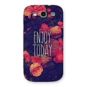Enjoy Today Multicolor Back Case Cover for Galaxy S3 Neo
