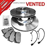 Brake Discs Vented à 350 MM + Brake Pads with Warning Contact AUDI Q7 4L 3.0 TDI, 3.6 FSI, 4.2 2006 ONWARDS; PORSCHE CAYENNE 955 3.2, 4.5, 4.8 2002 ONWARDS; VW TOUAREG 7LA, 7L6, 7L7 2.5 R5 TDI, 3.0 V6, 3.2 V6, 3.6 V6 FSI, 4.2 V8, 5.0, 6.0 W12 2002-2010