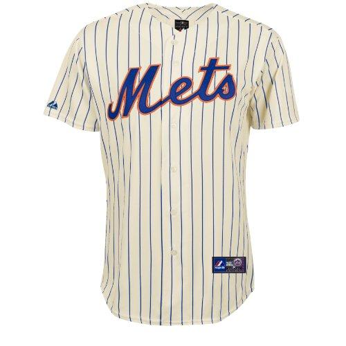 Majestic - Maillot de Baseball MLB New York Mets Majestic Replica Blanc taille - XL