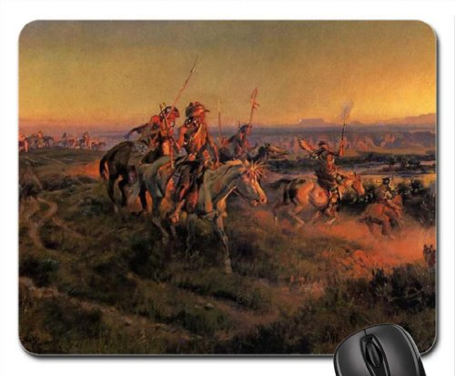 The Salute of the Robe Traders Mouse Pad, Mousepad (Horses Mouse Pad)