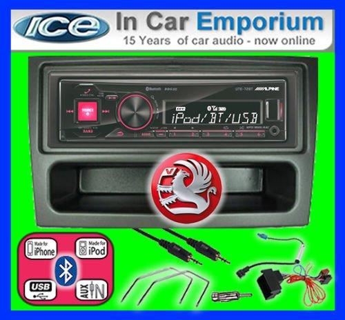 Vauxhall Signum autoradio Alpine UTE 72BT mains-libres Bluetooth pour autoradio stéréo