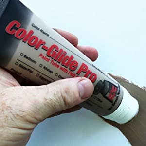 ColorGlide Pro TouchUp Painting- Covers Scratches Stains and Scuffs without a Paint Brush - New Look!
