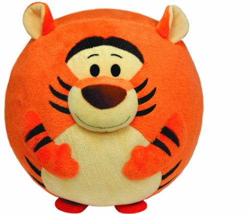 Ty Beanie Ballz Tigger Plush back-832930