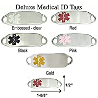 Stainless Steel Medical ID Alert TAG - FREE Engraving from Creative Medical ID