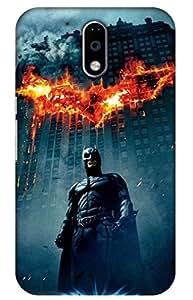 iessential Batman Printed Case For Moto G Plus 4Th Gen