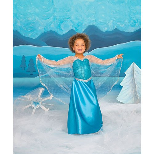 Elsa Creative Education Girl's Ice Crystal Queen Costume