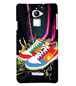 Colourful Shoes 3D Hard Polycarbonate Designer Back Case Cover for Coolpad Note 3 Lite :: Coolpad Note 3 Lite Dual SIM