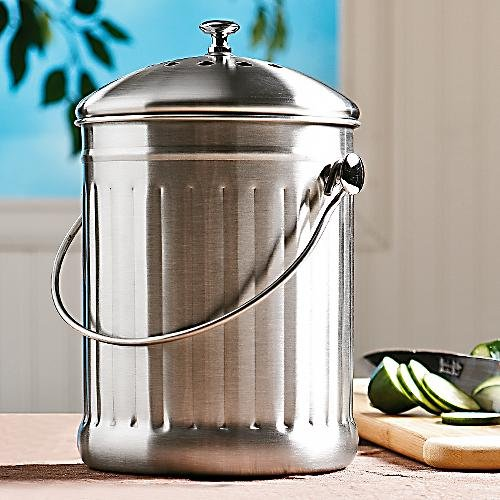 New Stainless Steel Vegetable Indoor Kitchen Compost