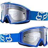 Fox Racing Main Adult Moto Motorcycle Goggles Eyewear - Blue / One Size