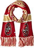 NFL San Francisco 49ers '47 Brand Breakaway Scarf with Tassels, Red, One Size