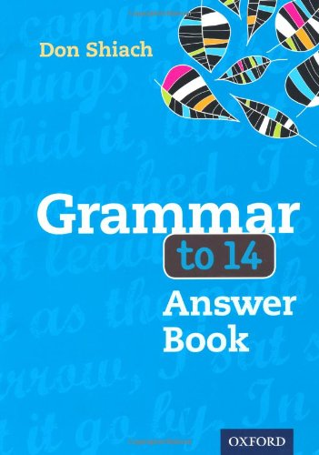Grammar to 14 Answer Book Third Edition