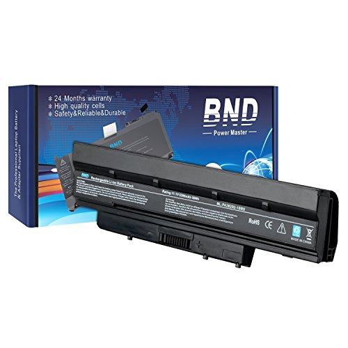 BND® High Performance [with Samsung Cells] Laptop Battery for Toshiba Satellite T210 T210D T215D T230 T235 T235D NB510 NB515 NB520 NB555D Series ; DynaBook MX/36MWH MX/34MWH MX/36MRD MX/34MRD MX/36MBL MX/34MBL N510/04BW N510/04BR N510/04BB N300/02AC N300/02AG N300/02AD ; Mini NB500 / Mini NB505 / MiniB525 - [fits P/N PABAS232 / PABAS231 / PA3821U-1BRS / PA3820U-1BRS] - 24 Months Warranty [6-Cell 5200mAh/58Wh]