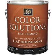 Color Solutions Latex Flat Self-Priming Exterior House Paint-EXT FLAT PASTEL BS