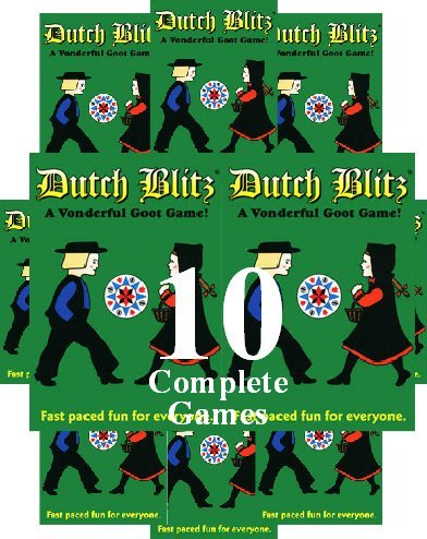 Dutch Blitz 10 Pack Bible Games Company Hopkinsirhysi