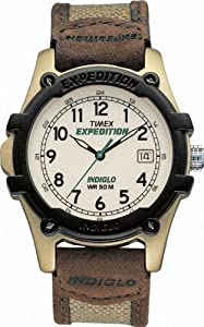 Timex Men's 43101 Expedition Aluminum Trail Analog White Dial Watch