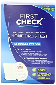 First Check 12 Drug Test, Home