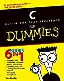 img - for C All-in-One Desk Reference For Dummies by Dan Gookin (2004-09-03) book / textbook / text book