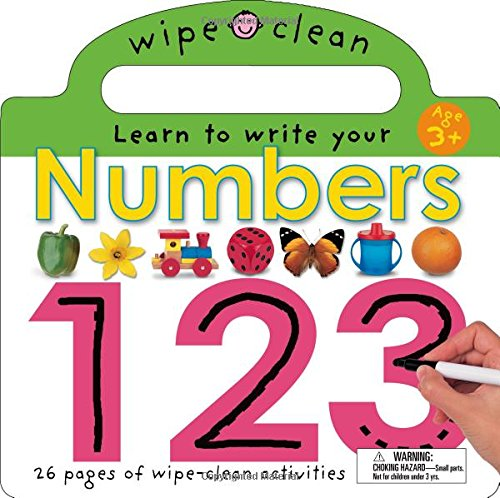 Numbers 1 2 3 [With Erasable Marker] (Wipe Clean)