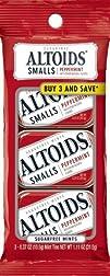 Altoids Peppermint Sugarfree Mint, 0….