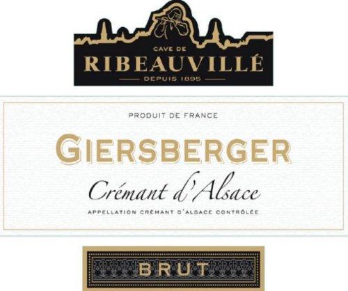 Cave de Ribeauville NV  Cremant d'Alsace Pinot Blanc Brut 750 mL