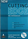 New Cutting Edge Pre-Intermediate Teachers Book and Test Master CD-Rom Pack