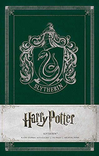 Ruled Harry Potter Journal: Slytherin (Harry Potter Ruled Journal)