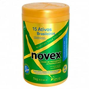 Novex Brazilian Hair Care Treatment RIQ 15 Activos 35.3 Oz.