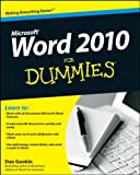 Dan Gookin Word 2010 For Dummies