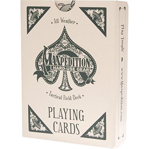 Maxpedition TACFIELDDECK Tactical Field Deck All Weather Playing Cards - 1