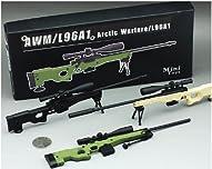AWM/L96A1 PM1個  3色有り ライフルガンフィギュア模型銃 1/6