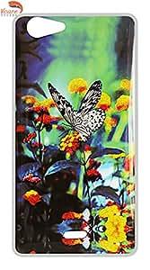 Vcare Shoppe Printed Back case cover for Micromax Canvas Mega E353