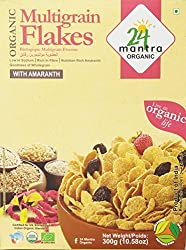 24 Mantra Organic Multi Grain Flakes, 300g