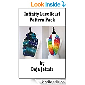 Lace Infinity Scarves Pattern Pack