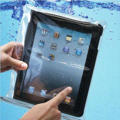 お風呂もOK! iPad 防水ポーチ 透明 ポーチ2枚入 日本製