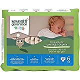 Seventh Generation Overnight Diapers - Size 6 - 17 ct