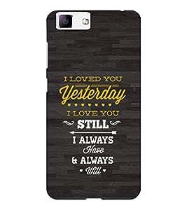 EPICCASE Love forever Mobile Back Case Cover For Vivo X5 (Designer Case)