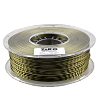 ZIRO 3D Printer Filament PLA 1.75 1KG(2.2lbs), Dimensional Accuracy +/- 0.05mm, Bronze from ZIRO