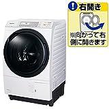 パナソニック 10.0kg ドラム式洗濯乾燥機【右開き】クリスタルホワイトPanasonic エコナビ 即効泡洗浄 NA-VX7600R-W